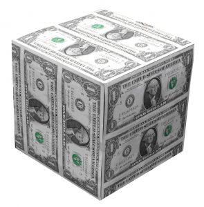 dollar-cube